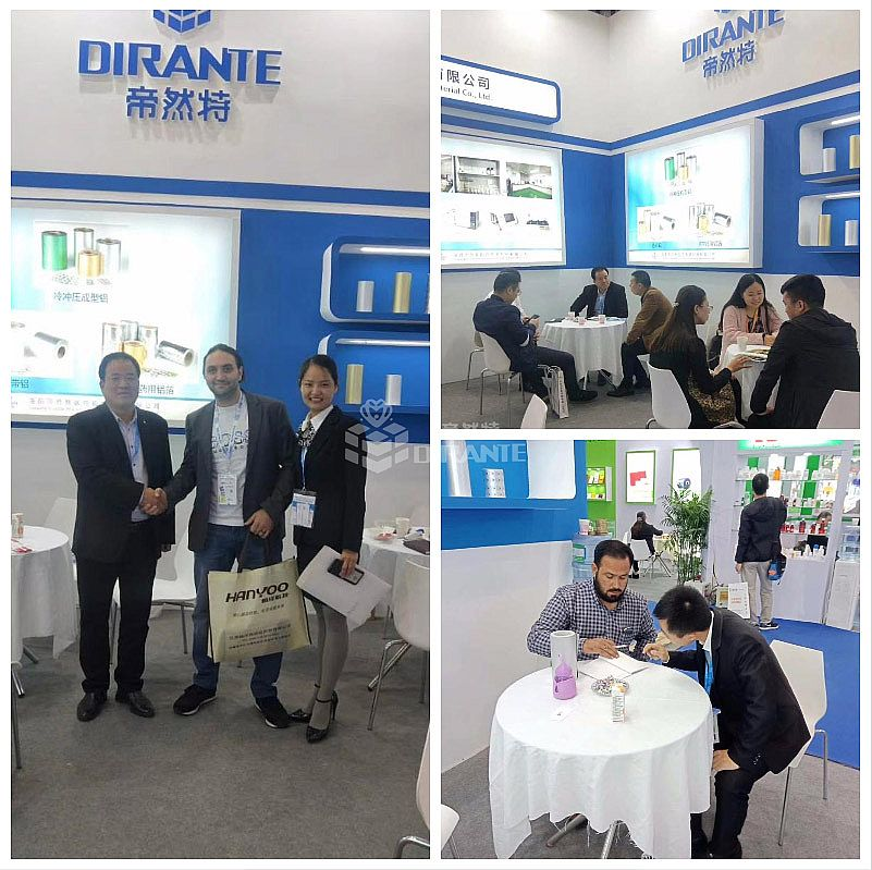Dirante at No. 81 API China Exhibition